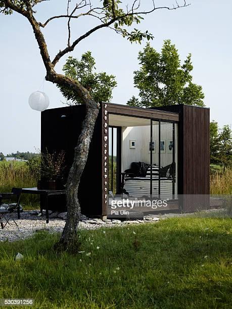 Small house in garden