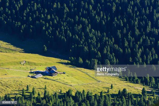 Small house in the forest of Secede, Italy