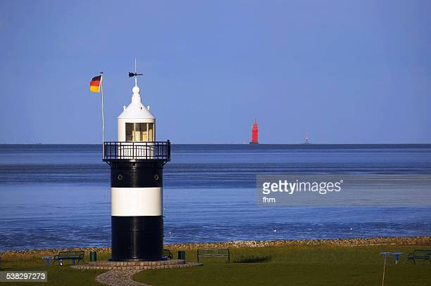 Small lighthouse in Germany