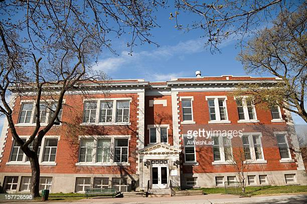 Small Montreal school in the spring