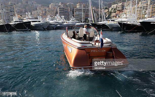 Small Motor yacht in Monaco