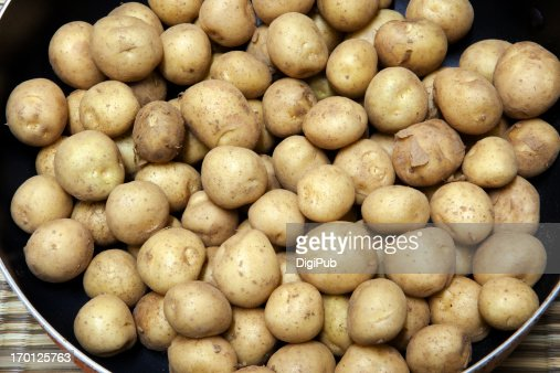Small potatoes : Stock Photo