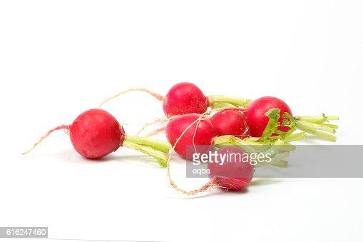 Small red radish : Foto stock