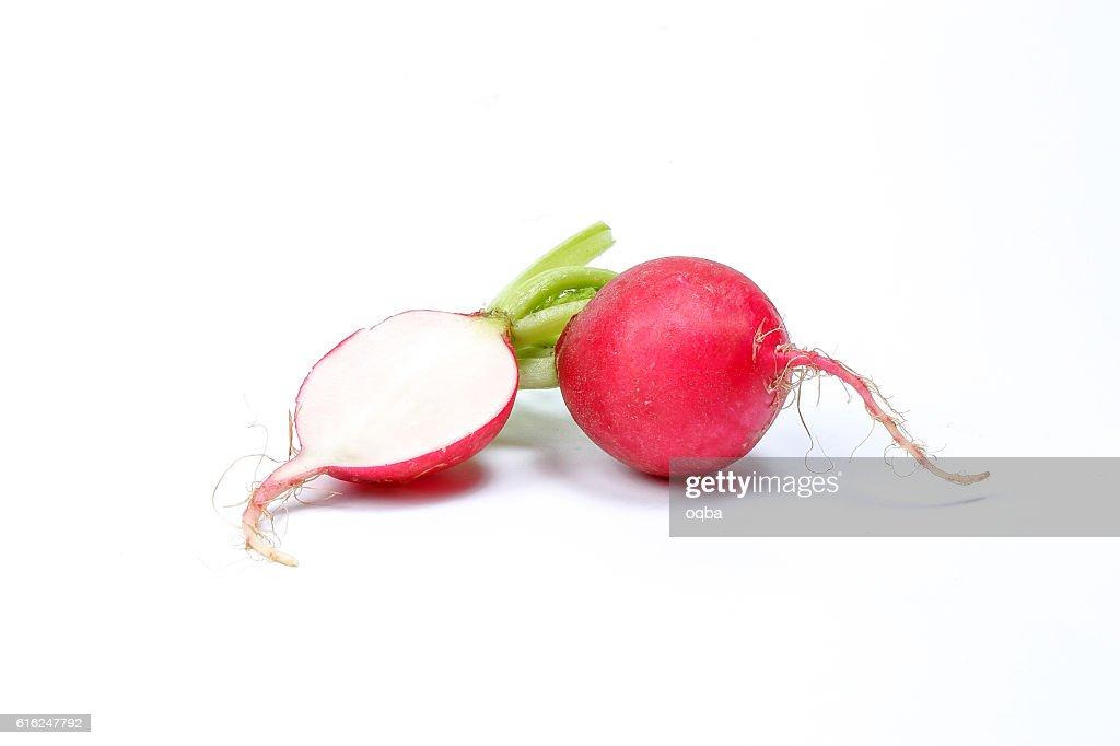 Small red radish : Stock Photo