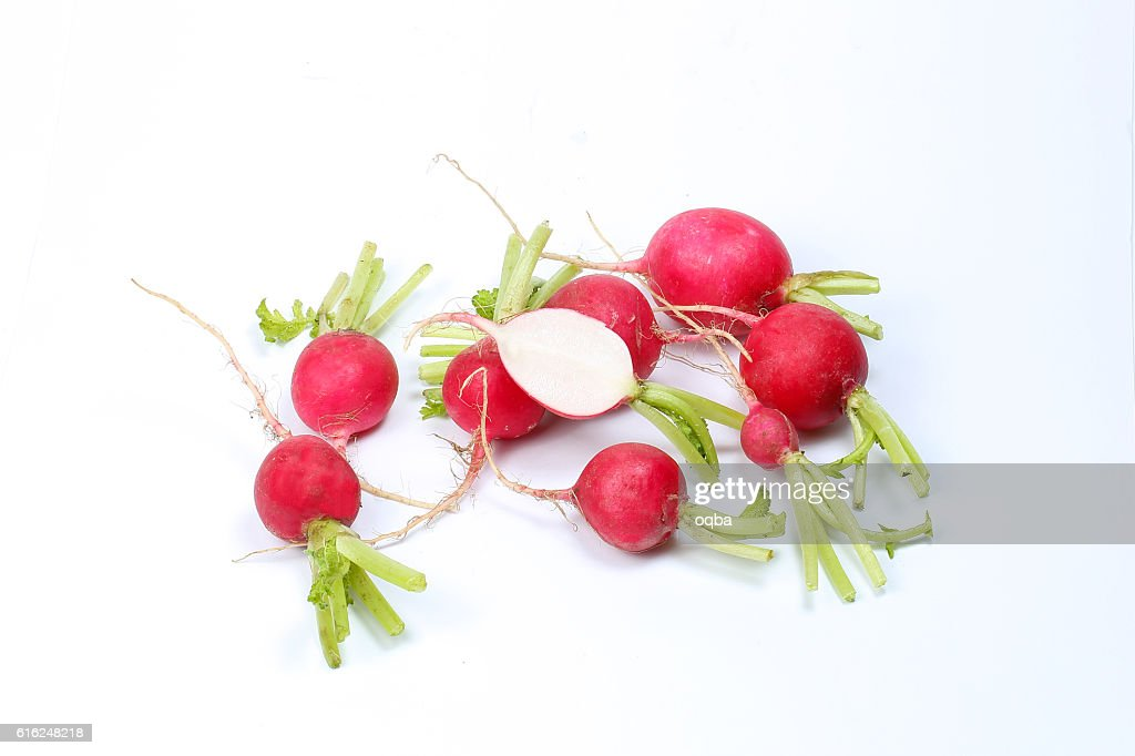 Small red radish : Stock-Foto