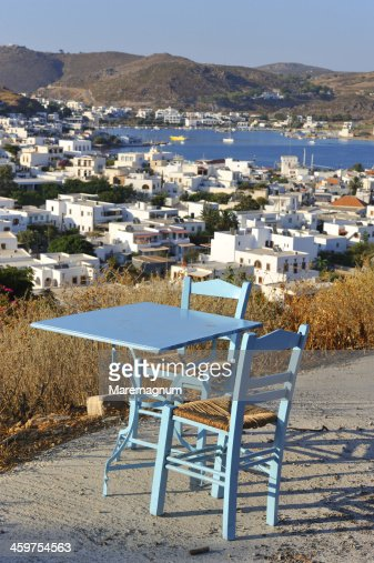 Small restaurant on the road to Chora