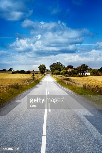 Small Road : Stock Photo