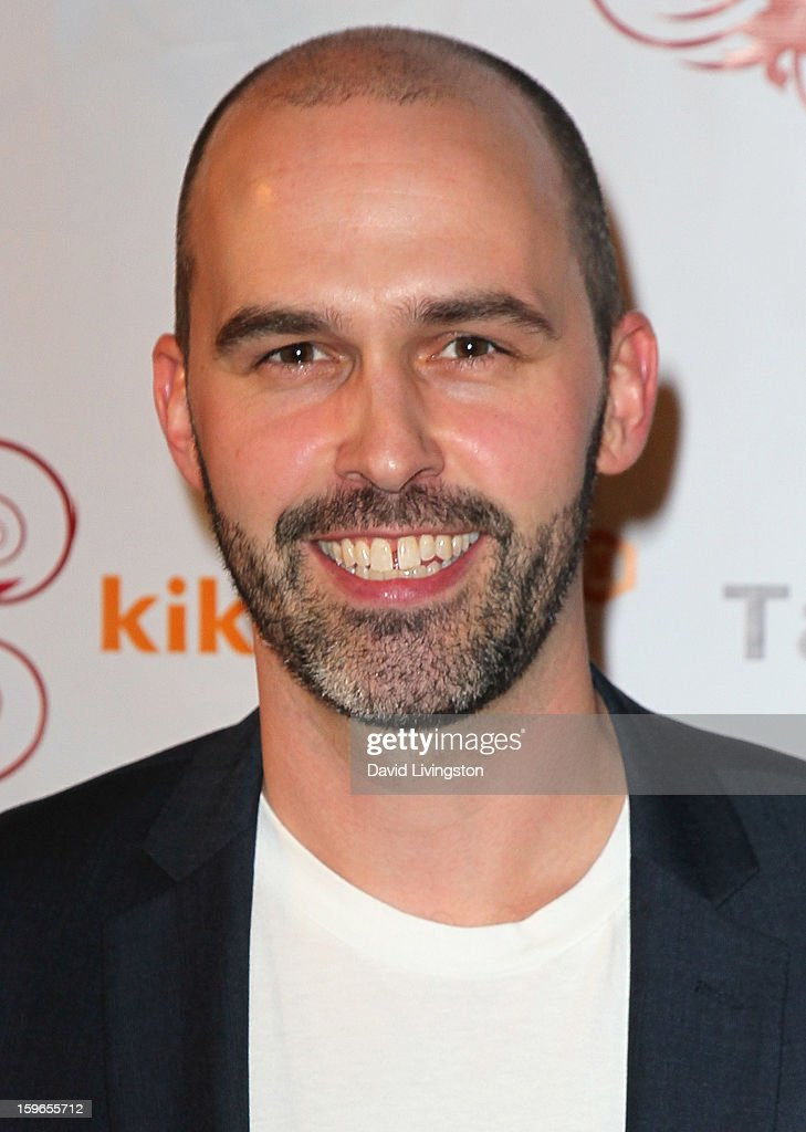 Small Screen Network founder & CEO Colin Kimball attends the 4th Annual Taste Awards at Vibiana on January 17, 2013 in Los Angeles, California.