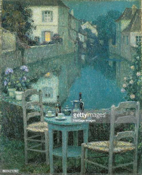Small Table in Evening Dusk 1921 Found in the collection of Ohara Museum of Art Kurashiki