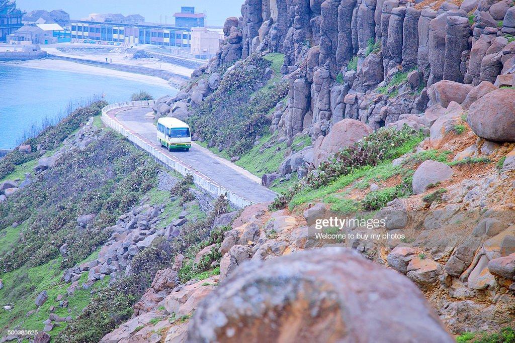 Small tourist bus