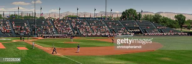 スモールタウンアメリカ野球のボールパーク