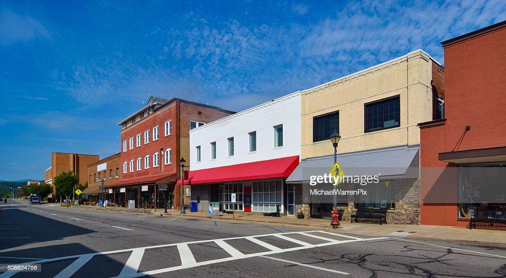 Small Town USA : Stock Photo