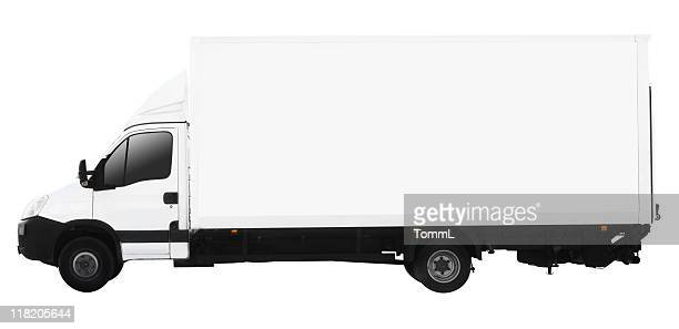 small truck (clipping path included)