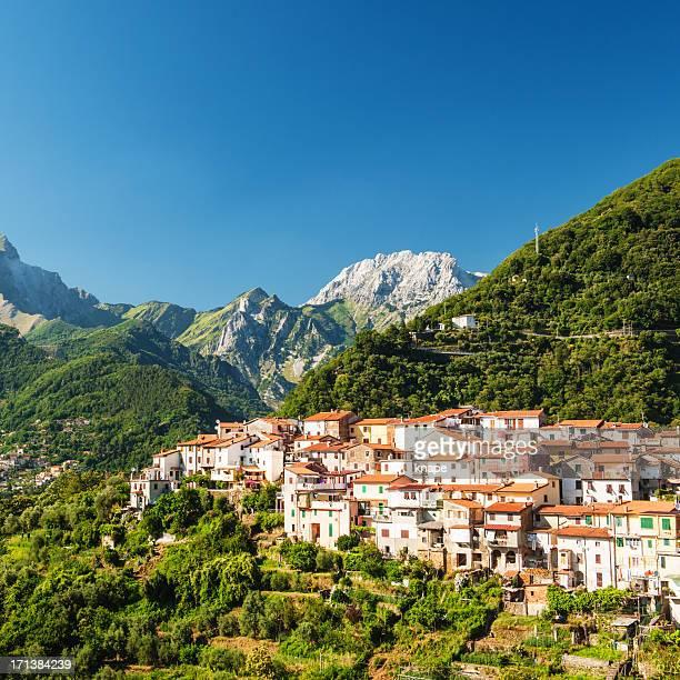 Kleine Dorf in der Toskana