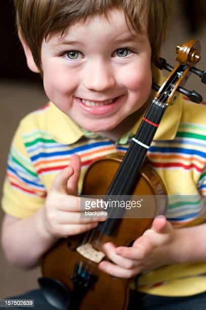 Small violinist