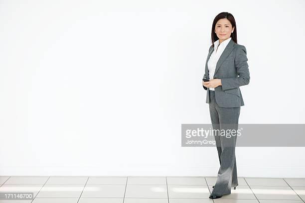 Smart Asian Businesswoman