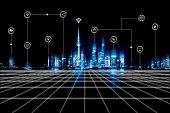 City, Technology, Internet, Cityscape, Urban Skyline