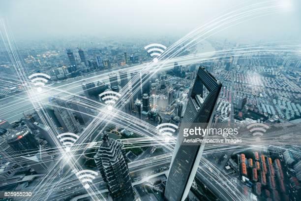Smart City Communication Technology