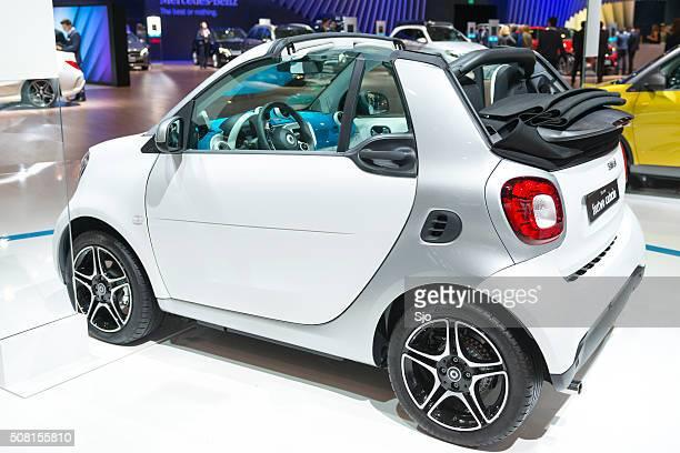 Intelligente für zwei Personen vom Cabrio Auto kompakte Stadt