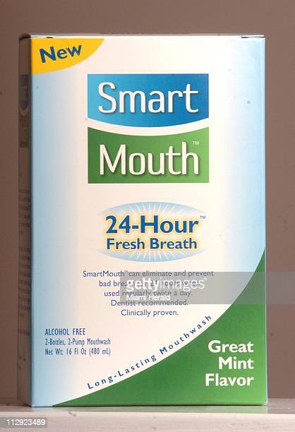 Smart Mouth mouthwash eliminates and prevents bad breath for 24 hours when used twice daily