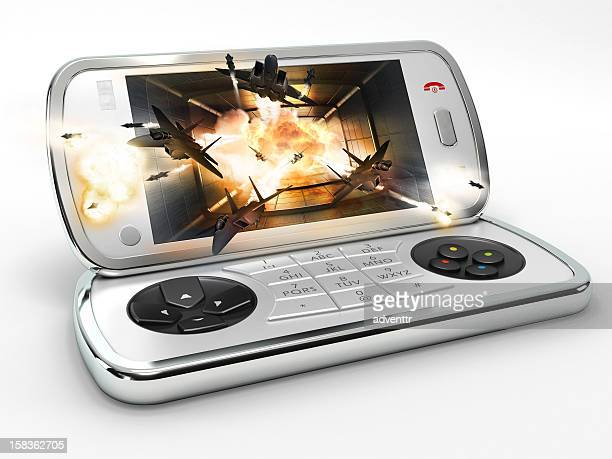 Smart phone & Portable game console hybrid design