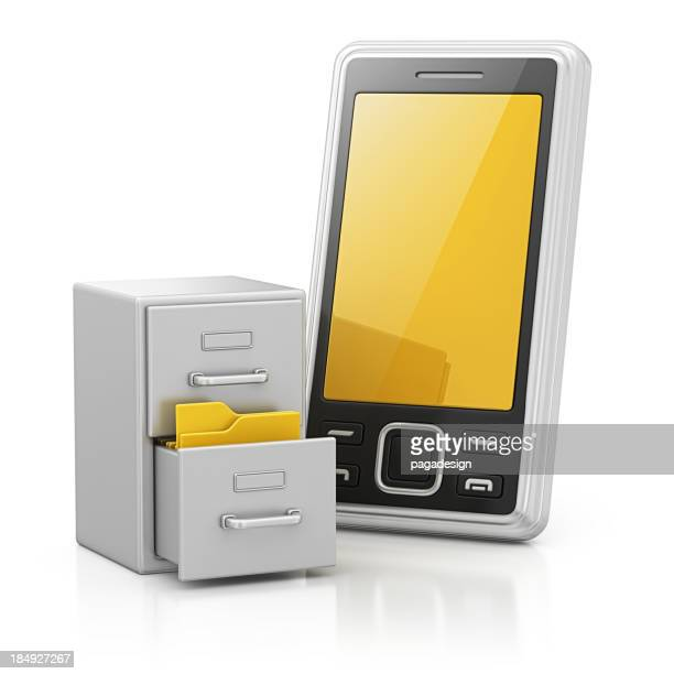 smart phone and archives