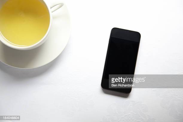 Smart Phone on table top