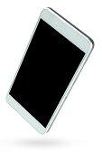 Smart Phone / Blank Screen / White Background