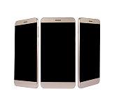 Smart Phone at plain background