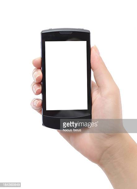 Smart phone with a blank screen