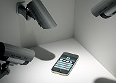 Smart Phone with Security Cameras