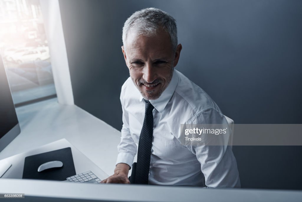 Smart technology for the smart businessman : Stock Photo