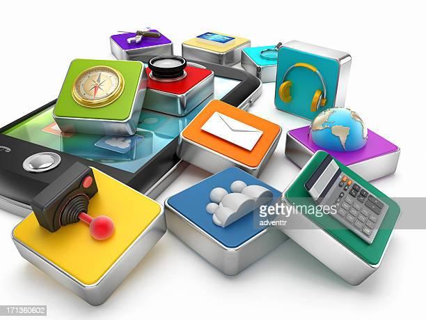 Aplicaciones de smartphones