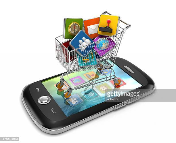 Smartphone applications shopping
