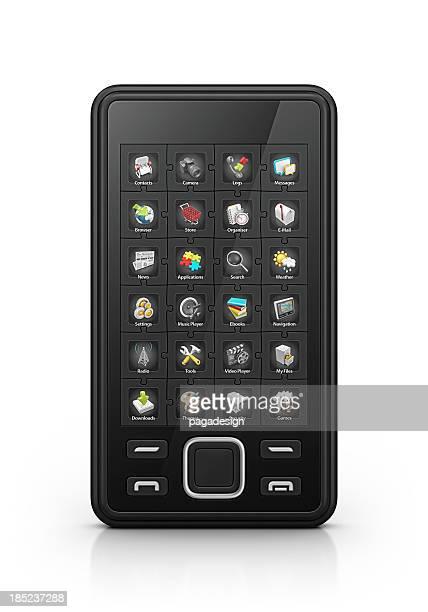 Aplicações de smartphone