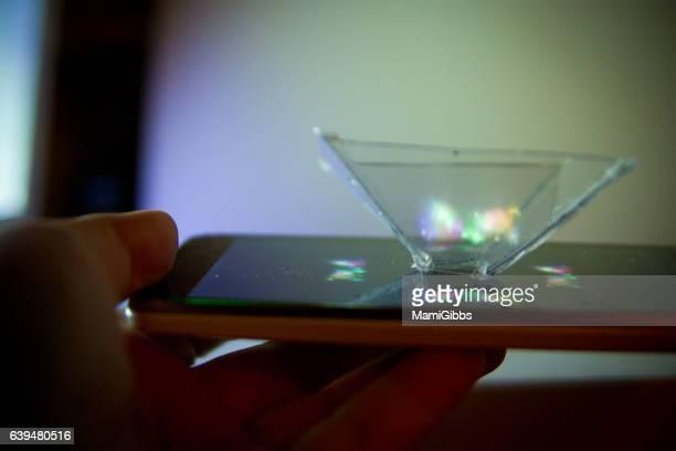 Smartphone into a 3D Hologram