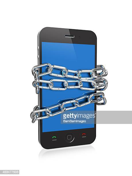 Smartphone with Chains