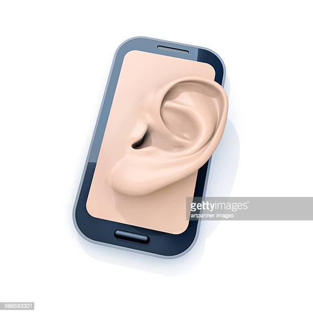 Smartphone with ear