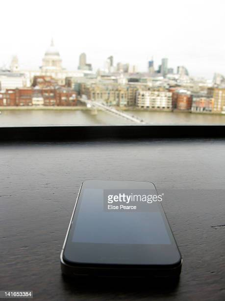 smartphone with view