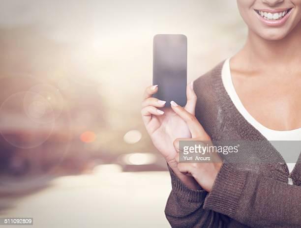 Smartphones mit smart Personen!