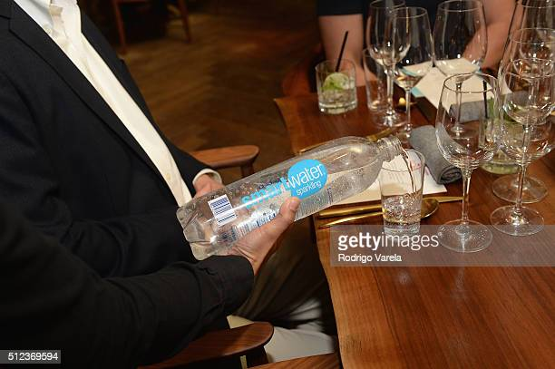 Smartwater on display at a Dinner Hosted By Francis Mallmann And Paul Qui during 2016 Food Network Cooking Channel South Beach Wine Food Festival...