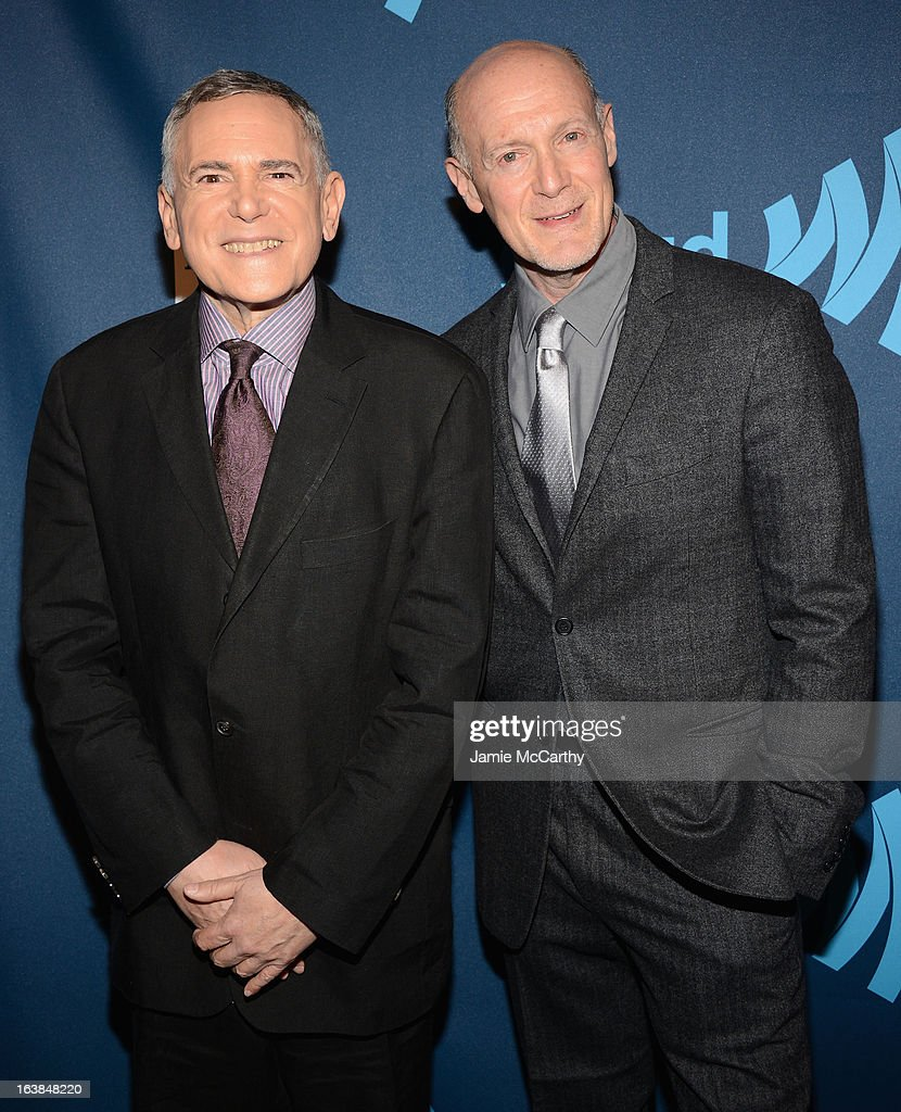 Smash Executive Producers Craig Zada and Neil Meron attend the 24th Annual GLAAD Media Awards on March 16, 2013 in New York City.