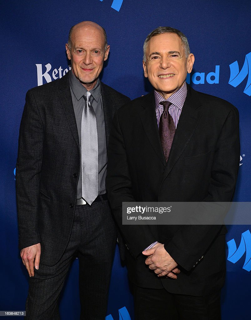 Smash Executive Producers Neil Meron and Craig Zadan attend the 24th Annual GLAAD Media Awards on March 16, 2013 in New York City.