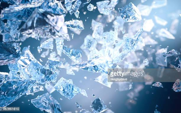 Zerdrückte Ice