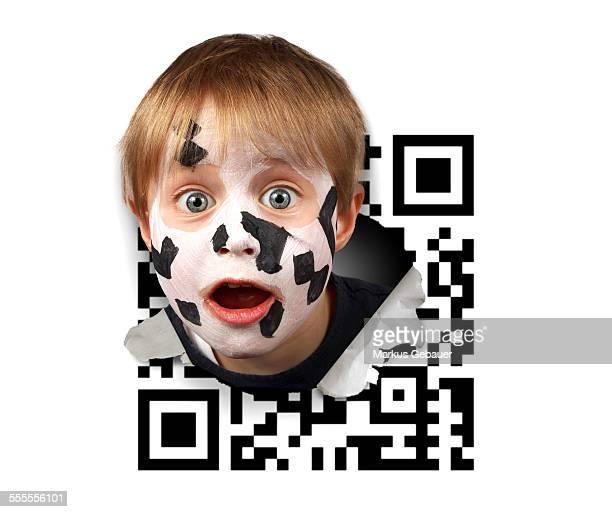 Smashing QR code