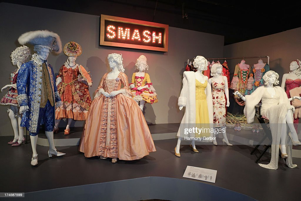 Smash's wardrobe displayed at The Academy Of Television Arts & Sciences' Costume Design & Supervision Peer Group 65th Primetime Emmy Awards Nominee Reception on July 27, 2013 in Los Angeles, CA.