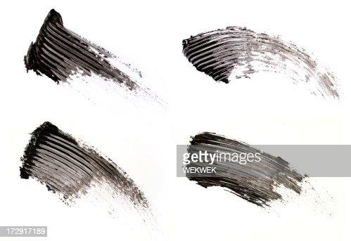 Smear of make-up