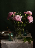 smell of peonies