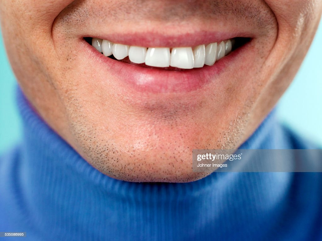 Smile, close-up
