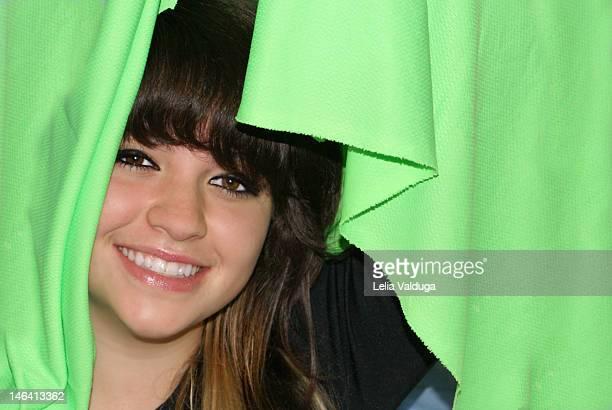 Smile on green